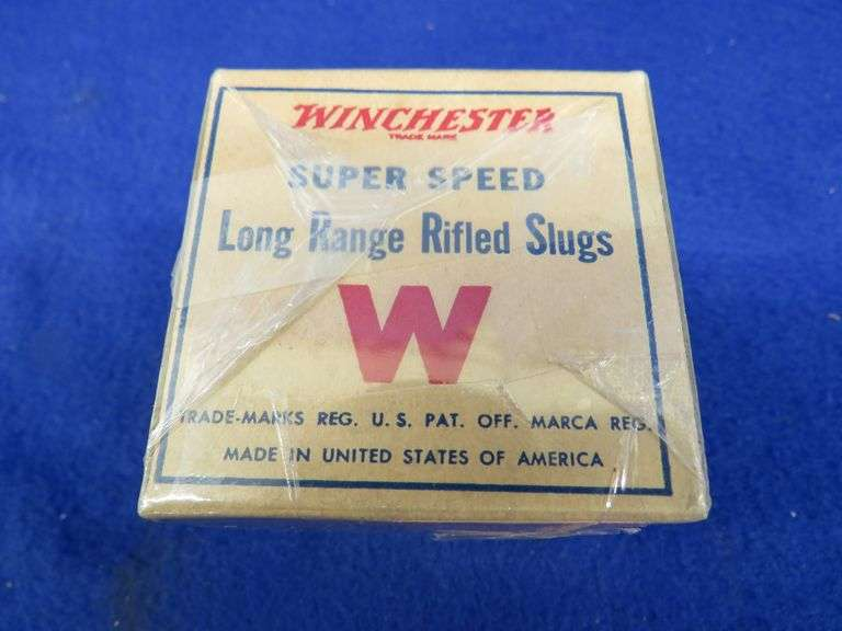 One empty two-piece box in VGC for Remington 12-ga. Shur Shot 4-shot shotgun shells