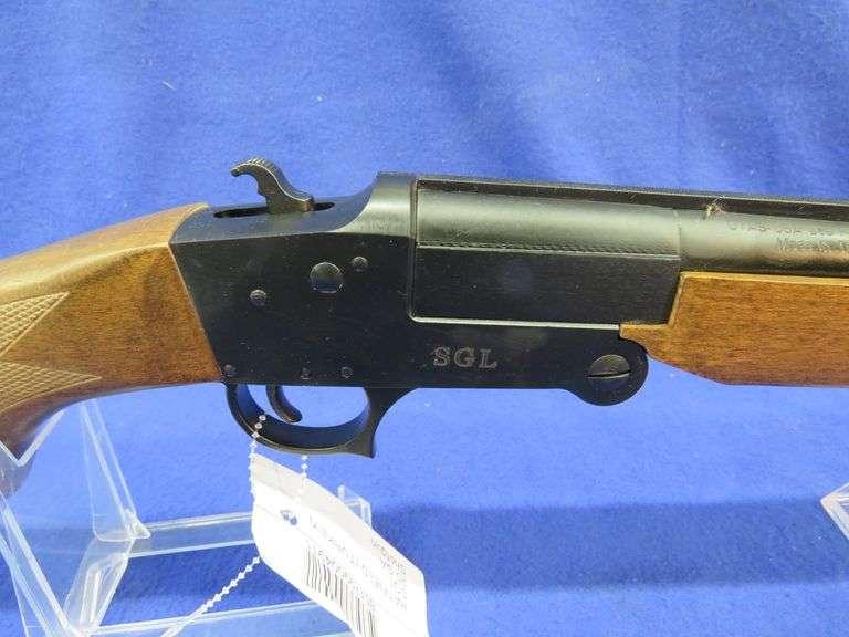 """New-in-the-box Hatfield Turkey SGL single shot 20-ga. 3"""" shotgun"""