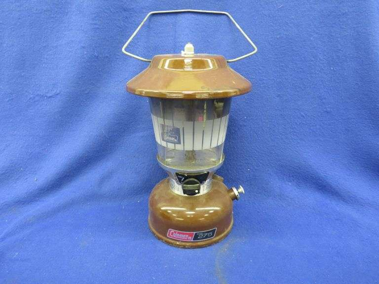 Coleman double mantle lantern.  Model 275.  Made in 1977.
