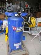 Cambell Hausfeld  6.5 HP 60-gallon 220 volt air compressor with attached hose reel and reel