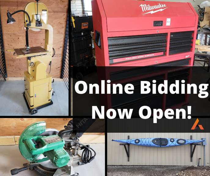 Online bidding is now open for the Tom & Rhonda Mattson Moving Auction!