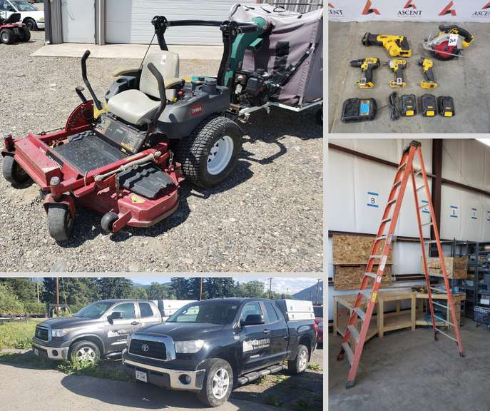 Montana Home and Ranch Maintenance Business Liquidation