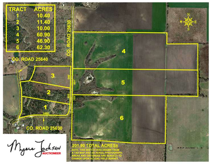 Acreage for Sale in Lamar County, TX 10-70 Acres