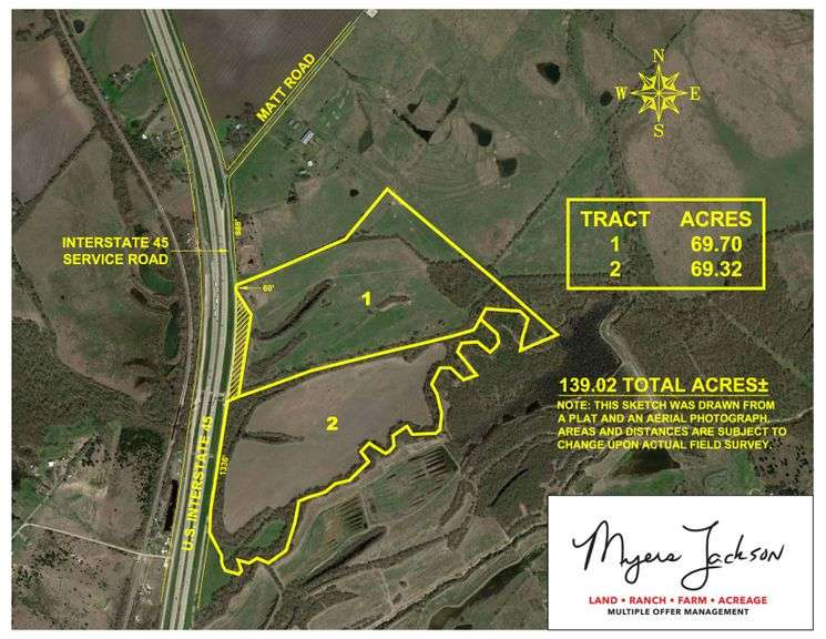 139+/-ac Investment Property-Hunt-Farm-Recreational Ellis Co Texas