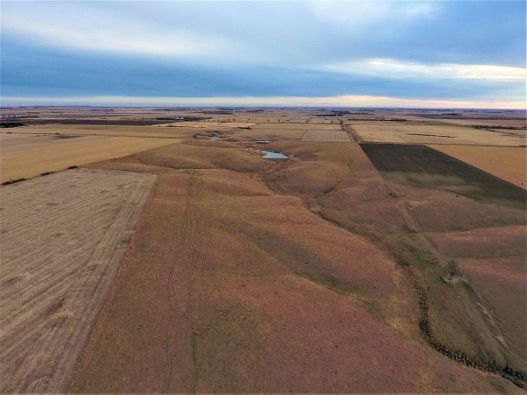 Yankton County SD Grass Land Crop Land and Hunting Land For Sale
