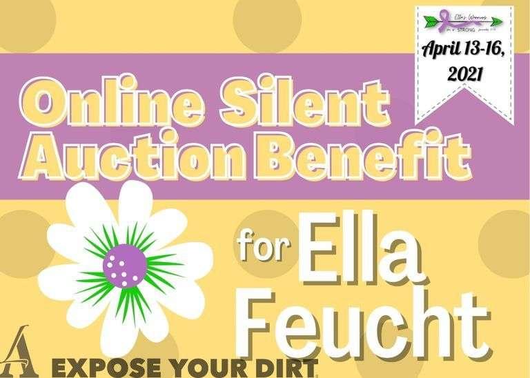 Ella's Warriors Online Silent Auction Benefit
