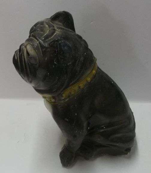 Vintage Carnival Chalk Dog Bank