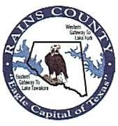 Rains County, Texas  - Closed
