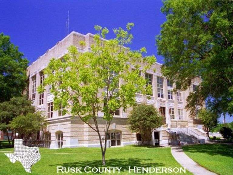 Rusk County, Texas - Closed
