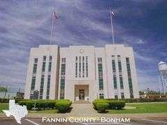 Fannin County, Texas - Closed