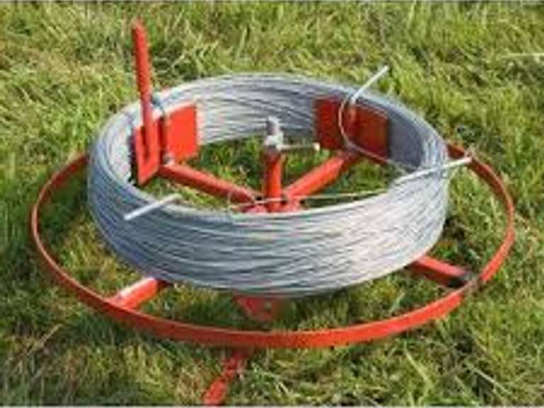 High tinsel fencing wire
