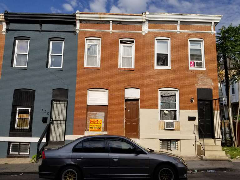 722 N Belnord Ave. Baltimore, MD 21205
