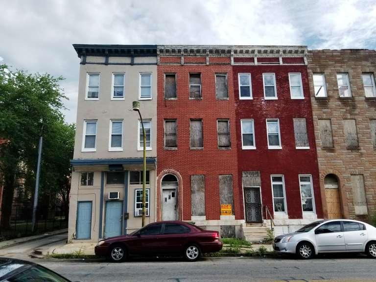 1722 W Lafayette Ave. Baltimore, MD 21217