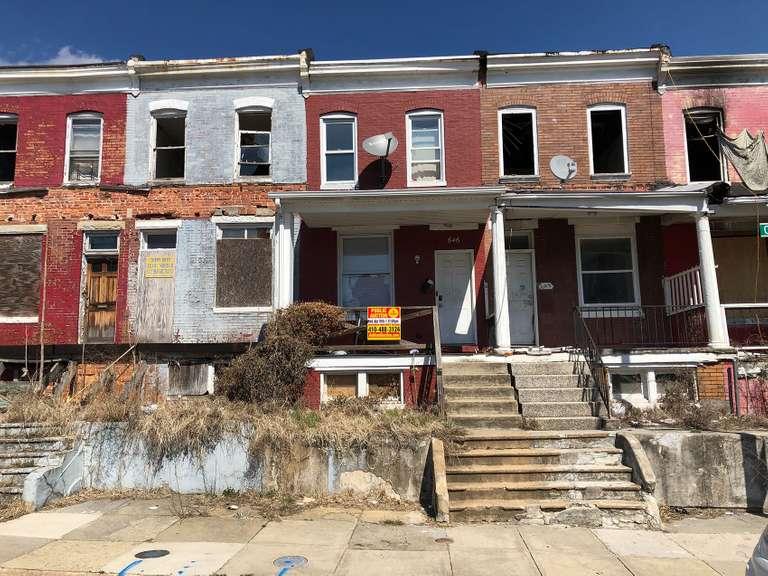 646 Cokesbury Ave. Baltimore, MD 21218