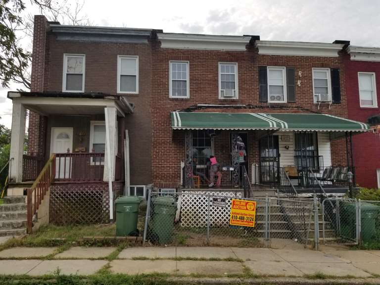 2617 Rosewood Ave. Baltimore, MD 21215