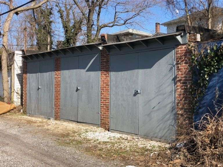 Garages Behind 4401 Rokeby Rd. Baltimore, MD 21229