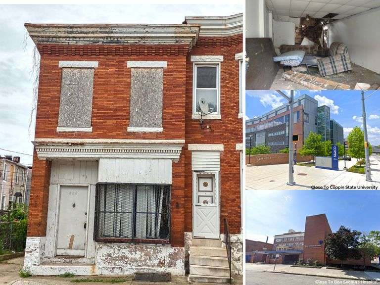 825 N Payson St. Baltimore, MD 21217