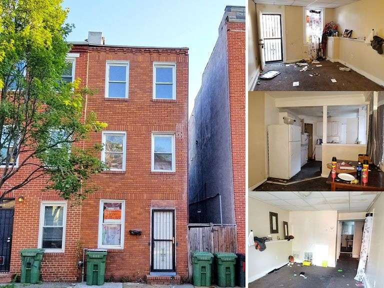 1110 W Lombard St. & 1111 Newman Ct. Baltimore, MD 21223