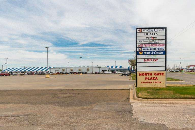 North Gate Plaza Shopping Center, Hereford Texas