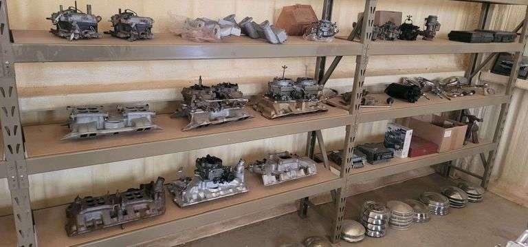 Great Texas MOPAR Hoard Parts & Memorabilia Auction
