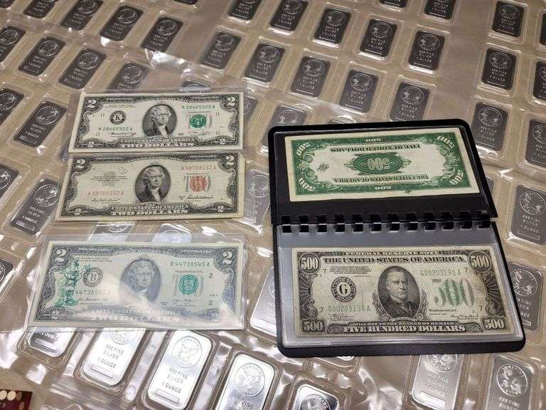 Jerry Bryan Collectable Coins, Currency & Silver
