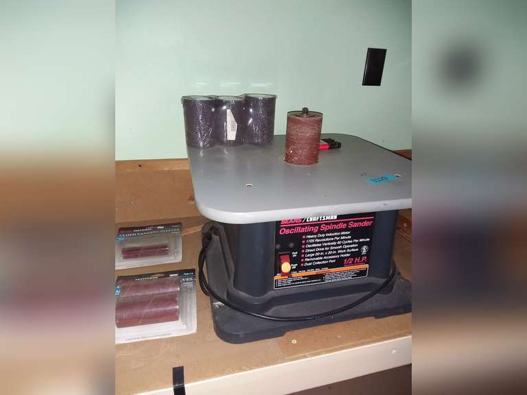 Craftsman Oscillating Spindle Sander, Untested, Good Condition