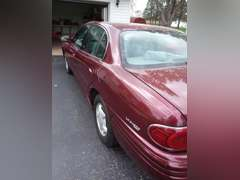 2000 Buick LeSabre Custom, Burgundy, With on only 44,028 miles.  Great running condition, new Delco battery with special venting just installed.  Charging system has been tested and all good.  Tires and brakes are in good working condition.  Oil sticker is about 3 years old, but no mileage driven and oil looks good.  Car is road ready and drives nicely   Interior is clean and very little wear marks.  Engine is very clean, car has been in garage with no drip marks on cement.