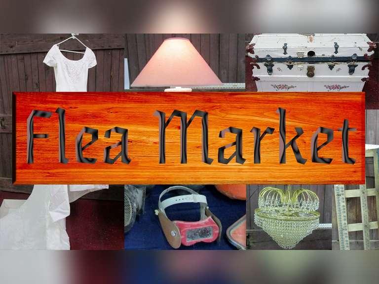 Flea Market Every Saturday 8:00am to 3:00pm