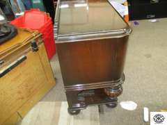 Batesville Cabinet Company, Hillenbrand Industries master made furniture from Batesville IN. Vintage Storage Buffet , Matches lot #3194 , 20x47x34 , beautiful condition with one large drawer