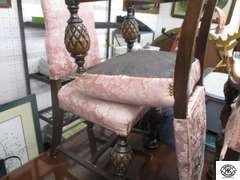 Batesville Cabinet Company, Hillenbrand Indus tires master made furniture from Batesville IN. Formal Dinning Table and 6 chairs comes with 4 extension leafs