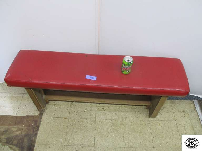 Padded Bench 4 ft x 12 inches