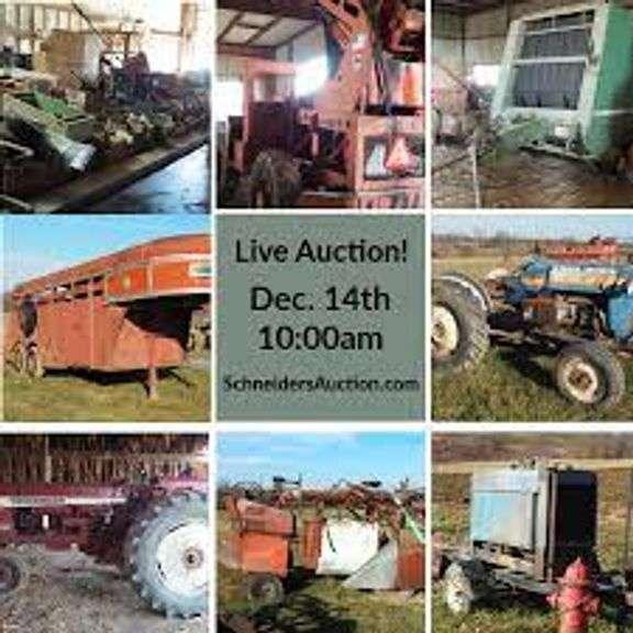 ONLINE – TOOL, FARM EQUIPMENT, TRACTOR PARTS, ESTATE AUCTION