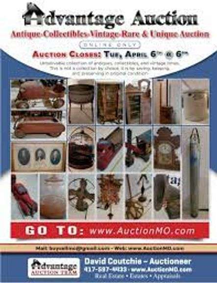 ONLINE ESTATE AUCTION – DIGGINS MO