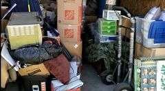 Storage unit auction