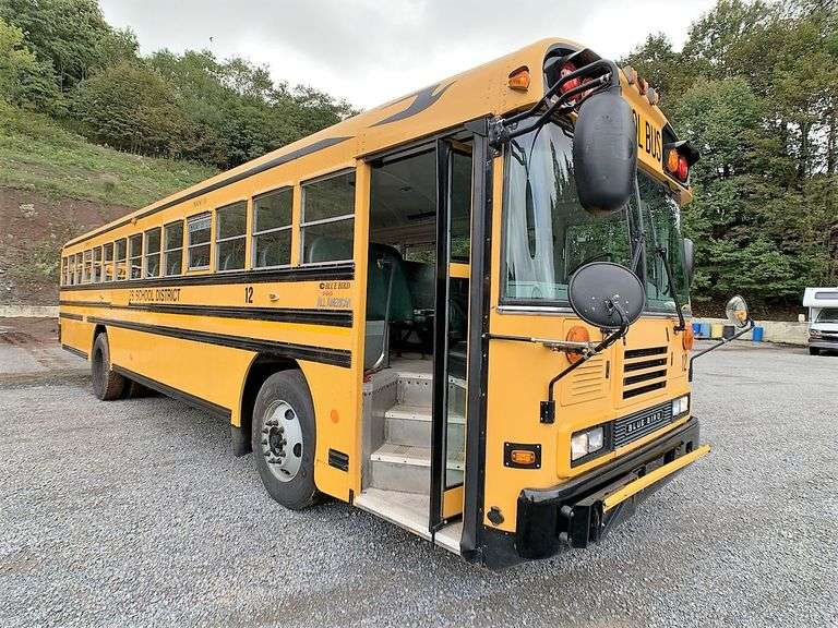 (2) BLUE BIRD ALL AMERICAN SCHOOL BUSES located in GIBSONIA, PA