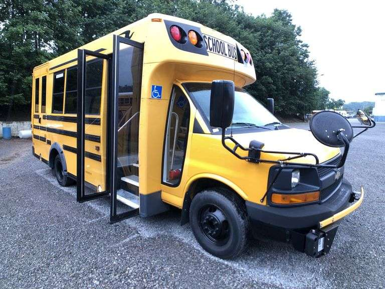(7) SMALL SCHOOL BUSES located in GIBSONIA, PA