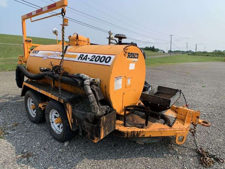 """(1) 2009 LEE BOY ROSCO RA-2000C """"THE PATCHER"""" POT HOLE PATCHER located in SLIPPERY ROCK, PA"""