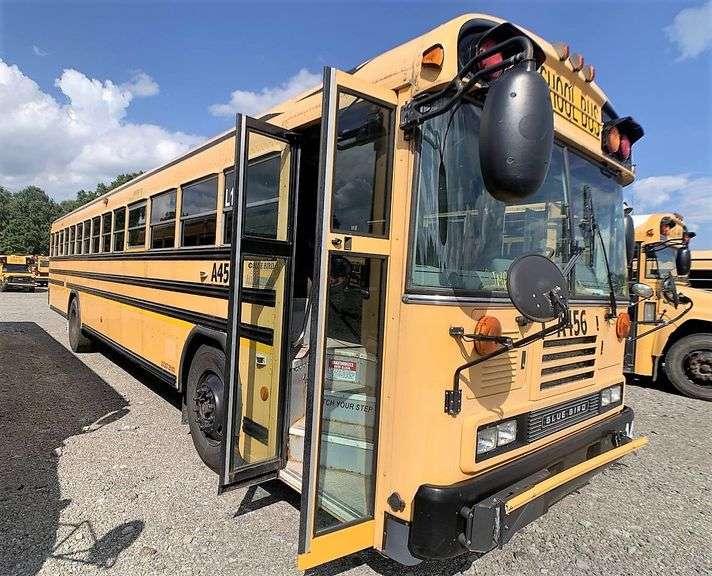 (1) 2010 BLUE BIRD ALL AMERICAN SCHOOL BUS located in SLIPPERY ROCK, PA