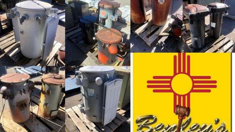 1493-NM Scrap Metal & Transformers Online Auction