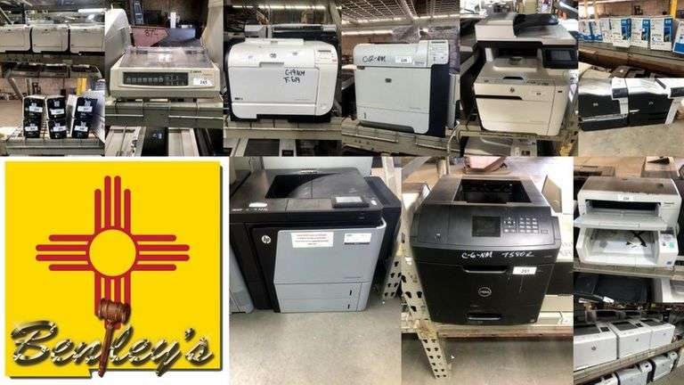 1481-NM Printers, Scanners, Copiers & Accessories Online Auction