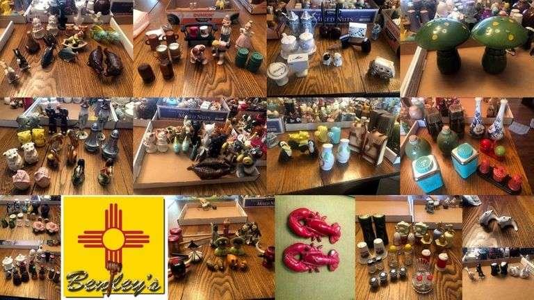 1517-NM Salt & Pepper Collection Online Auction