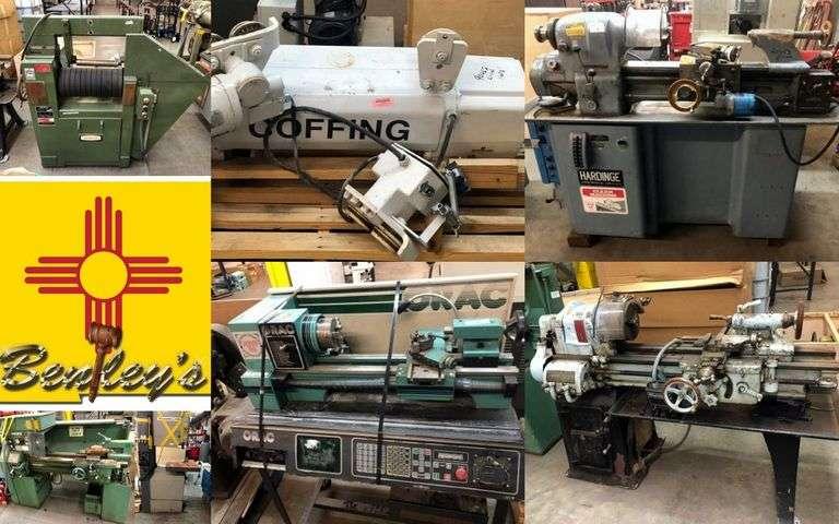 1477-NM Machinery & Equipment Online Auction