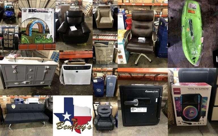 1471-TX Big Box Store Retail Returns Online Auction