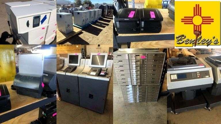 1518-NM Safes & Money Counters Online Auction