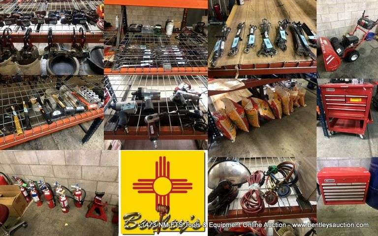 1473-NM FTS Tools & Equipment Online Auction