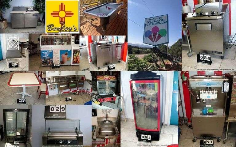 1423-NM Village Ice Cream Online Auction