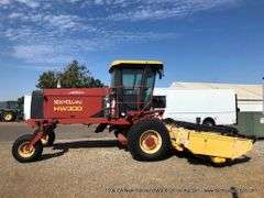 1506-CA New Holland HW300 Windrower Online Auction