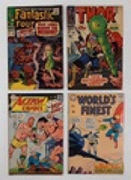 Over 150 Silver Age Comic Books by DC, Marvel, Gold Key, Dell, More. North Lima, OH