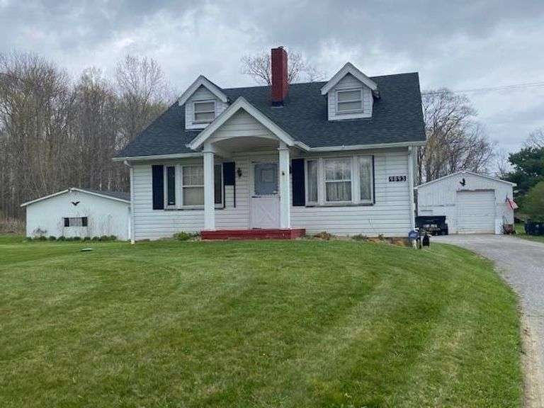Postponed pending approval from Mahoning County Health Department for the septic system and well. North Lima Real Estate, 3BR, 2BA, 6+ Acres. 9893 Woodworth Rd, North Lima, OH 44452