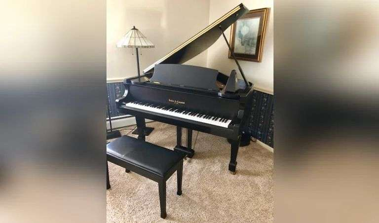 Large Boardman Twp. Auction. Baby Grand Piano, Furnishings for Every Room, Excercise, Electronics,, Decor, & More